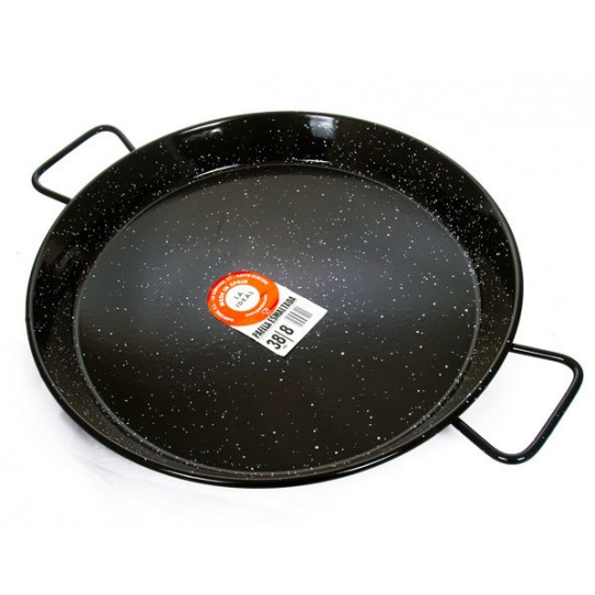 enameled paela pan
